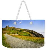 Path To Cabot Tower On Signal Hill Weekender Tote Bag by Elena Elisseeva