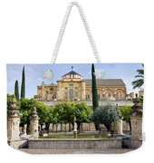 Patio De Los Naranjos At Mezquita In Cordoba Weekender Tote Bag