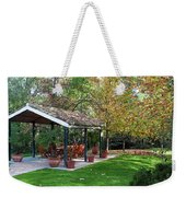 Patio Dining Madrid Weekender Tote Bag
