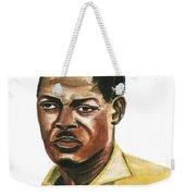 Patrice Lumumba Weekender Tote Bag