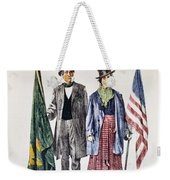 Patricks Day: Music, 1873 Weekender Tote Bag by Granger