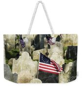 Patriot Cemetery Weekender Tote Bag