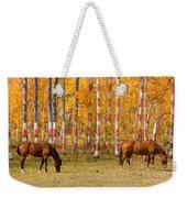 Patriotic Autumn Weekender Tote Bag