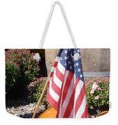 Patriotic Farm Stand Weekender Tote Bag