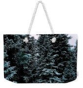 Pat's Winter Trees 1d Weekender Tote Bag