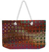 Pattern Study I Reflections Weekender Tote Bag