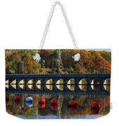 Patterns Of Reflection Weekender Tote Bag