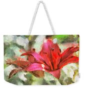 Patty's Perfect Lily Weekender Tote Bag