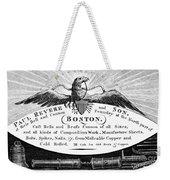 Paul Revere: Trade Card Weekender Tote Bag