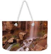 Paulina Falls Sunset Weekender Tote Bag