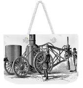 Paving Machine, 1879 Weekender Tote Bag