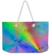 Peace Aspirations Weekender Tote Bag