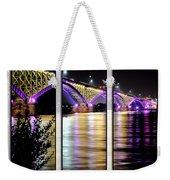 Peace Bridge 02 Triptych Series Weekender Tote Bag