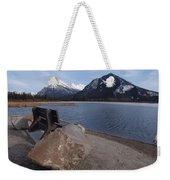 Vermillion Lakeside Weekender Tote Bag