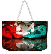 Peace Love Joy Weekender Tote Bag