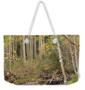 Peaceful Aspens Weekender Tote Bag