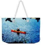 Peaceful Canoe Ride Ll Weekender Tote Bag