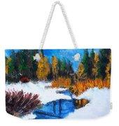 Peaceful Creek 2012 Weekender Tote Bag