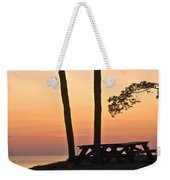 Peaceful Evening Picnic 7109 Weekender Tote Bag