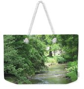 Peaceful Mountain Stream Weekender Tote Bag