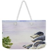 Peaceful Place Morning At The Lake Weekender Tote Bag