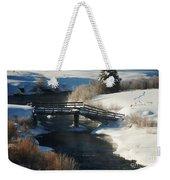 Peaceful Winter Day Weekender Tote Bag