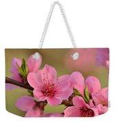 Peach Beautiful Weekender Tote Bag