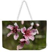 Peach Blossom Clusters Weekender Tote Bag