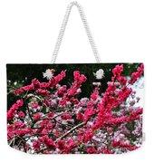 Peach Blossom Weekender Tote Bag