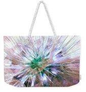 Peacock Dandelion - Macro Photography Weekender Tote Bag