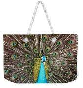 Peacock Plumage Feathers Weekender Tote Bag