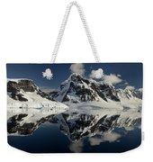 Peaks Along  Neumayer Channel Weekender Tote Bag