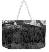 Peaks Near Schwangau In The Bavarian Alps Weekender Tote Bag
