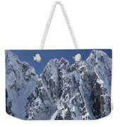 Peaks Of Takhinsha Mountains Weekender Tote Bag