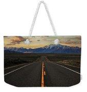 Peaks To Craters Highway Weekender Tote Bag by Benjamin Yeager
