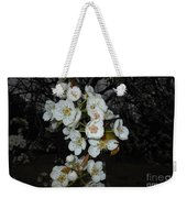 Pear Blooms And Tree Weekender Tote Bag