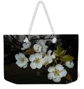 Pear Blooms Weekender Tote Bag