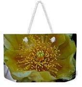 Pear Cactus Close Up Weekender Tote Bag