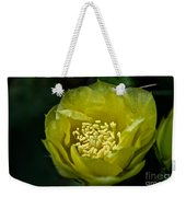 Pear Cactus Flower Weekender Tote Bag