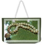 Pearl Bracelet Weekender Tote Bag
