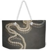 Pearl Necklace Weekender Tote Bag