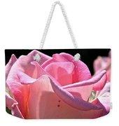 Pearl Pink Petals Weekender Tote Bag