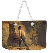 Peasant With A Wheelbarrow Weekender Tote Bag