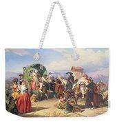 Peasants Of The Campagna Weekender Tote Bag