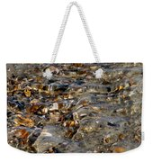Pebbles And Shells By The Sea Shore Weekender Tote Bag