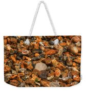 Pebbles And Stones On The Beach Weekender Tote Bag