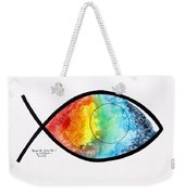 Peces De Oracion 1 Weekender Tote Bag