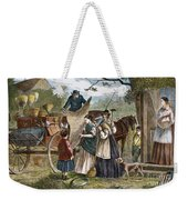 Peddlers Wagon, 1868 Weekender Tote Bag