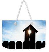 Peeking Sunlight Through A Birdhouse Weekender Tote Bag