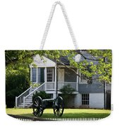 Peers House And Cannon Appomattox Court House Virginia Weekender Tote Bag